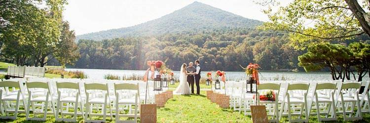 Peaks of Otter Wedding Ceremony