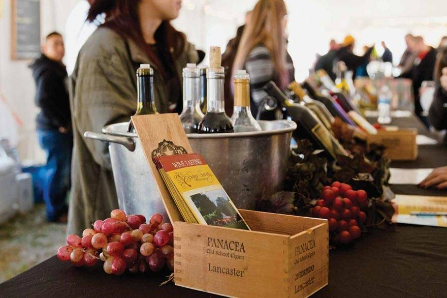 Thomas Jefferson Wine Festival Tasting at Poplar Forest